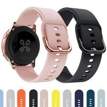 Ремешок силиконовый для наручных часов samsung galaxy watch