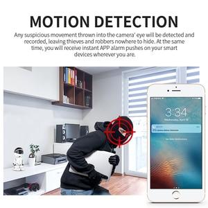 Image 5 - 1080P Smart Robot Camera HD IP Camera WiFi Camera Wireless Baby Monitor Motion Detection Night Vision Security Camera YCC365 APP
