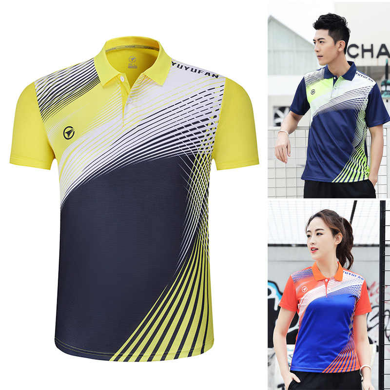 2019 New Badminton shirts Men / Women ,Table Tennis shirts  ,sports Running t-shirts , Fitness Gym Tennis shirts A126