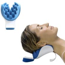 Neck and Shoulder Relaxing Pillow Neck Massage Alleviate Snoring Sleep Quietly EMS Muscle Stimulator neck pillow neck shoulder revitalizer pillow neck shoulder rest back spine support neck relaxing ease massage support cushion