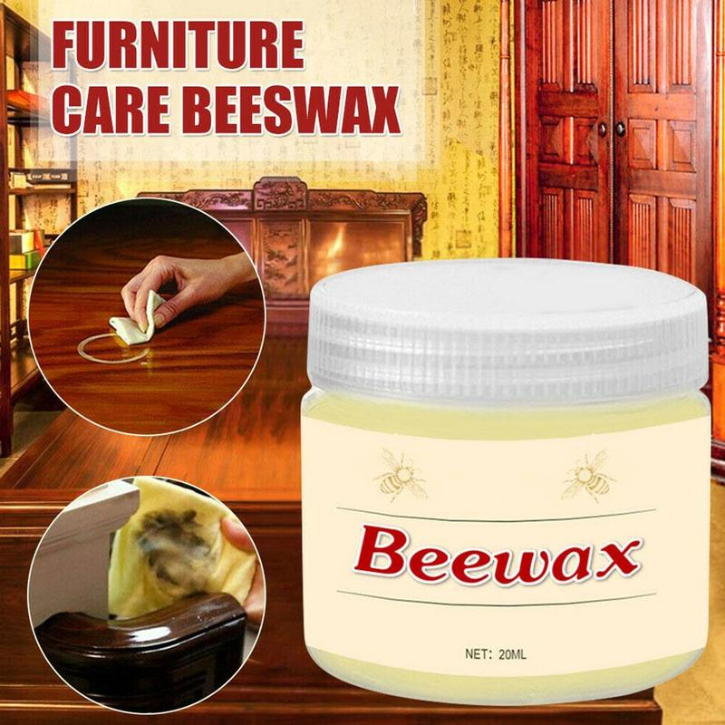 Wood Seasoning Beewax Wood Care Wax Solid Wood Maintenance Cleaning Polished Waterproof Wear-Resistant Furniture Wax Dropshippin
