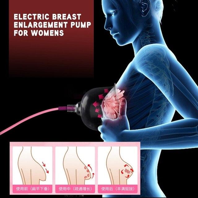 مضخة تكبير الثدي الكهربائية فراغ الحجامة الجسم شفط مضخة الثدي محسن الأرداف رافع تدليك للمرأة 6
