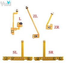 YuXi Left Right Joy-Con Replacement ZL ZR L SL SR Button Key Ribbon Flex Cable For Nintend Switch NS JoyCon Controller