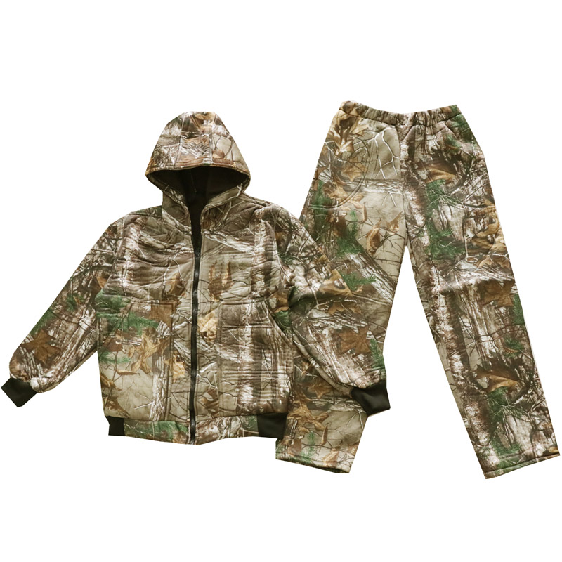 Autumn-Winter-Thicken-Warm-Fleece-Bionic-Camouflage-Hunting-Suit-Jacket-Pants-Tactical-Hiking-Fishing-Clothes-Ghillie