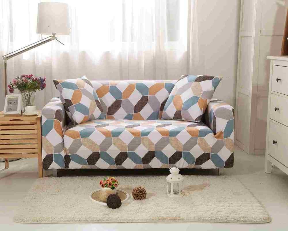 تمتد غطاء أريكة لغرفة المعيشة تمتد الأغلفة الاقسام مرونة غطاء أريكة L شكل كرسي غطاء واحد/اثنين/ثلاثة مقعد