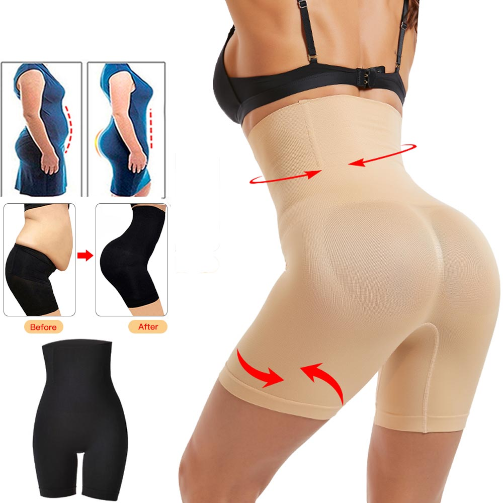 Women High Waist Shaping Panties Breathable Slimming Underwear Panty Shapers Tummy Control Panties Hip Butt Lifter Body Shaper