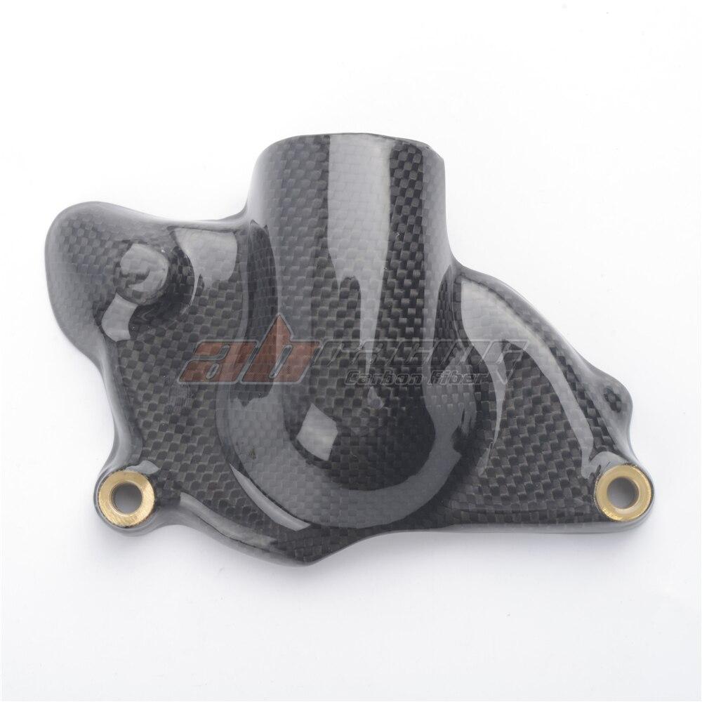 Water Pump Waterpump Cover Guard  For Ducati  1098 1198 848 Full Carbon Fiber 100%