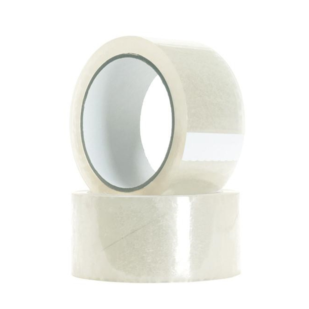 18 Rolls Of 2-inch X 55 Yards Clear Tape - Packing Tape Heavy-duty Adhesive Tape Rolls Express Carton Packaging Tape