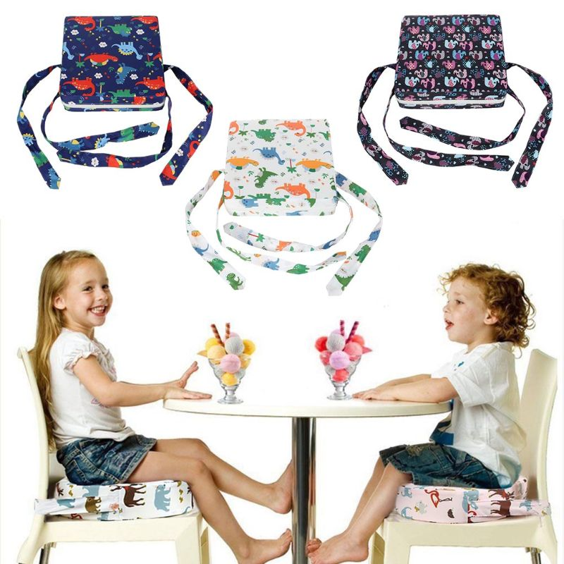 Child Seat Increased Pad Baby Kids Dining Cushion Adjustable Chair Mat G99C