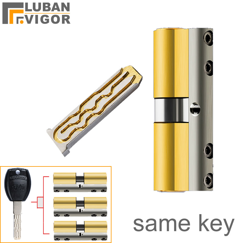 Custom Master Keys,one Key Open Many Locks,anti-theft Door Copper Lock Cylinder Core,Anti-Pry Lock Anti-technology Cracking