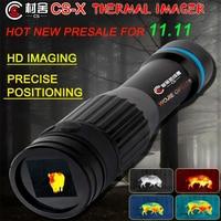 CUNSHE CS-X thermal vision patrol infrared night vision thermal imager riflescope night vision hunting optics rifle scope sights