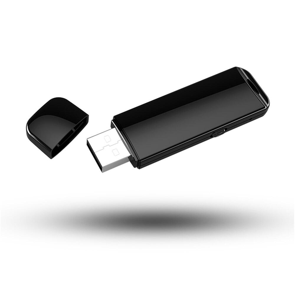 Small USB Flash Drive Voice Recorder 4GB 8GB 16GB 32GB Mini Invisible Audio Sound Recording Device U Disk Dictaphone