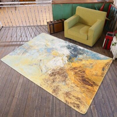 Art moderne abstrait Graffiti tapis rectangulaire chambre salon tapis