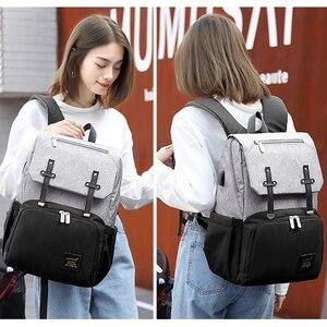 Image 5 - Подгузник для беременных, сумка для ухода за ребенком, для мам, мам, колясок, сумка для коляски, USB, водонепроницаемая, для путешествий, для кормящих мам, сумка для переодевания