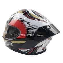 Look carbone Moto garniture Arrière casque spoiler Pour SHOEI Z7 Z-7 NOUVEAU Z8 Accessoires