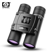 Binoculars Telescope Outdoor APEXEL 8x21 Power HD for Hiking Camping Mini Multi-Layer