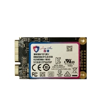 JingHai 512G SSD 1.8-Inch MSATA Built-In Solid State Drive, Suitable for Desktop/Notebook General Hard Drives