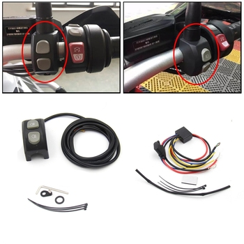 Motorcycle Fog Lights Wiring Harness Switch Control,Handbar Button Switch with Smart Relay for BMW R1200GS R1250GS / ADV F750GS