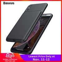 Funda Baseus para cargador de batería para iPhone Xs Max Xr X funda de carga para cargador externo para iPhone Xsmax