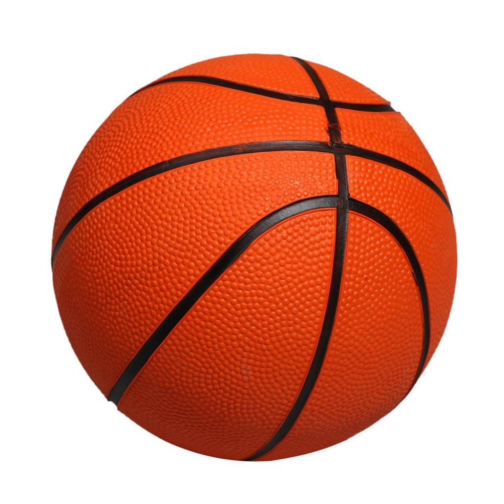 Rubber Basketball Training Ball 13cm Baby Practice Ball Children Game Sports Training Equipment Basketball Accessories