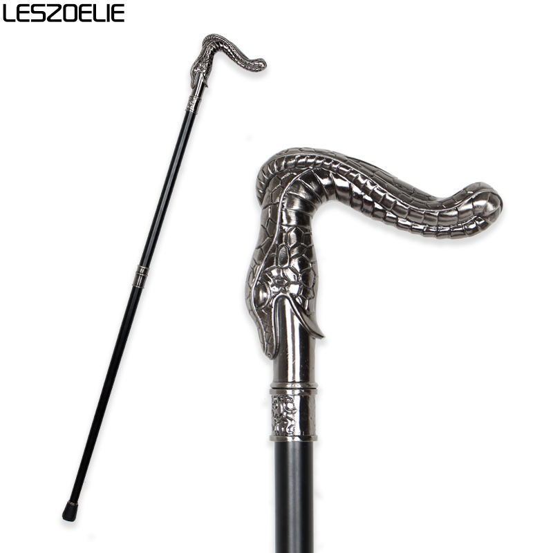 Snake Head Luxury Walking Stick Canes For Man 2020 Fashion Decorative Walking Stick Fashionable Cane Vintage Walking Cane Stick