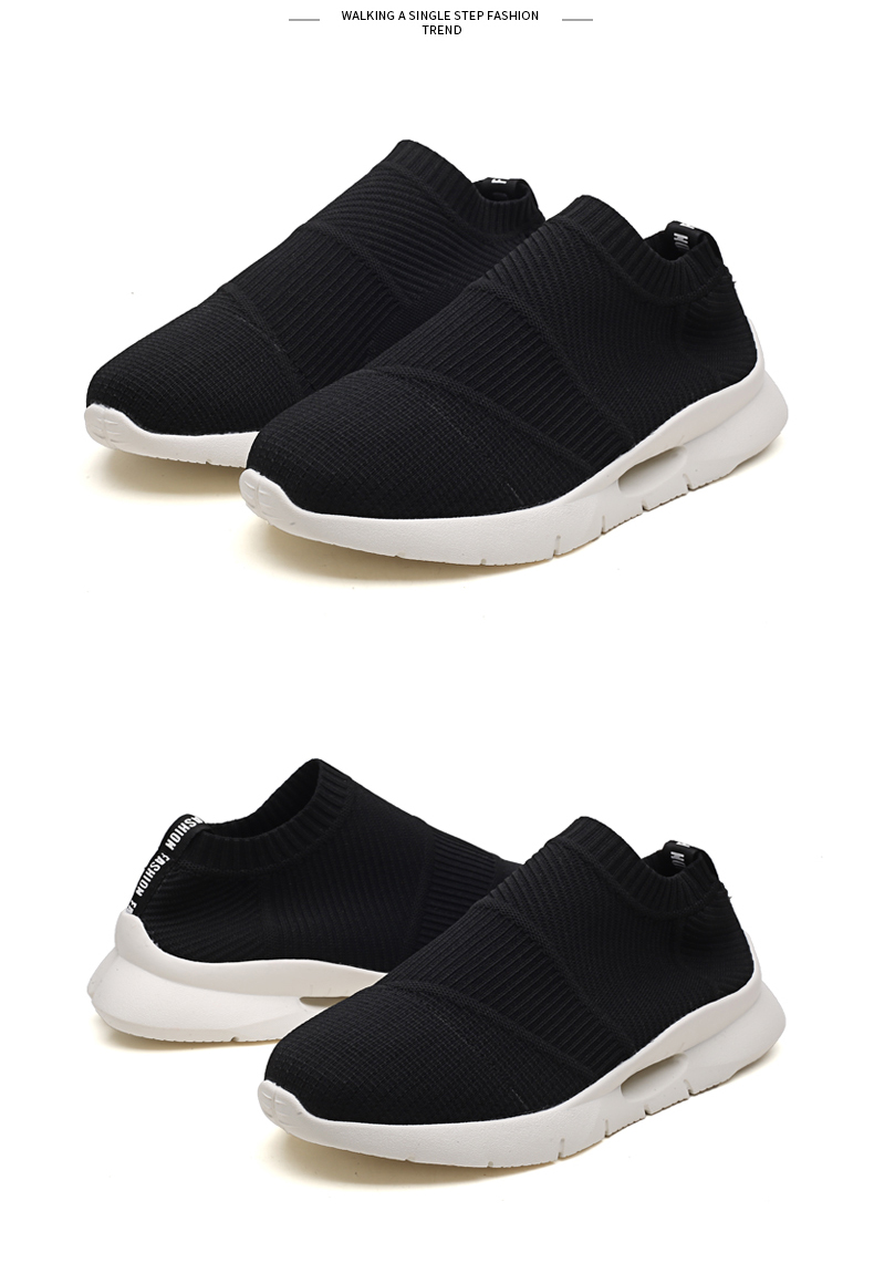 Ha08c7e24f0c841408b68a51c8a1554a1u - Men Light Running Shoes Jogging Shoes Breathable Man Sneakers Slip on Loafer Shoe Men's Casual Shoes Size 46