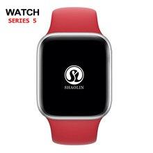 Opaska na pasek z jabłkiem 42mm silikonowa na pasek IWatch zamiennik dla Apple Watch Series 4,3,2