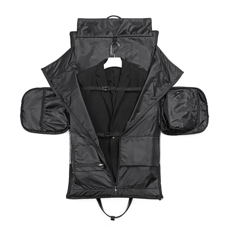 OZUKO Travel Bag Multifunction Men Suit Storage Large Capacity Luggage Handbag Male Waterproof Travel Duffel Bag Shoes Pocket 3