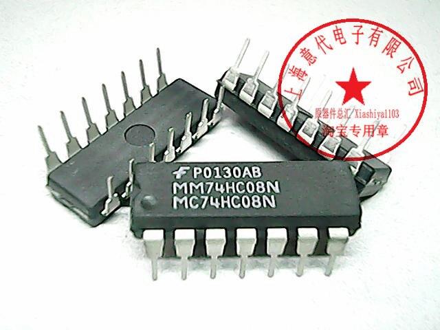 5pcs MC74HC08N   74HC08