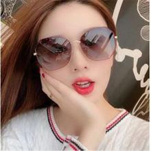 Солнцезащитные очки женские в винтажном стиле большие квадратные
