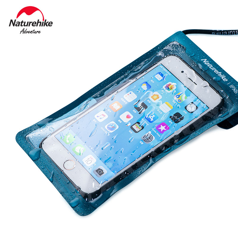 Naturehike Waterproof Cellphone Bag TPU Swimming Waterproof Phone Set Touch Screen Sealed Diving Mobile Phone Shell NH20SM003