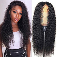 Ably Pre plucked Curly Human Hair Wig Brazilian Bob Lace Frontal Wig Remy 13x4 Lace Frontal Human Hair Wigs With Baby Hair(China)