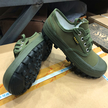 new style green military shoes china cloth outdoor Sports Climbing Shoes army accessories worker wear