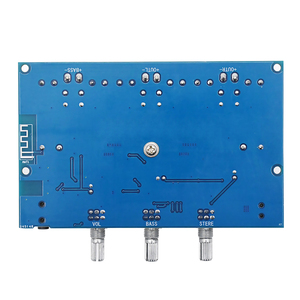 TPA3116 Digital Power Amplifier Board 2.1Channel Stereo Class D Home Speaker Bluetooth 5.0 Audio Receiver Amplifiers for AUX