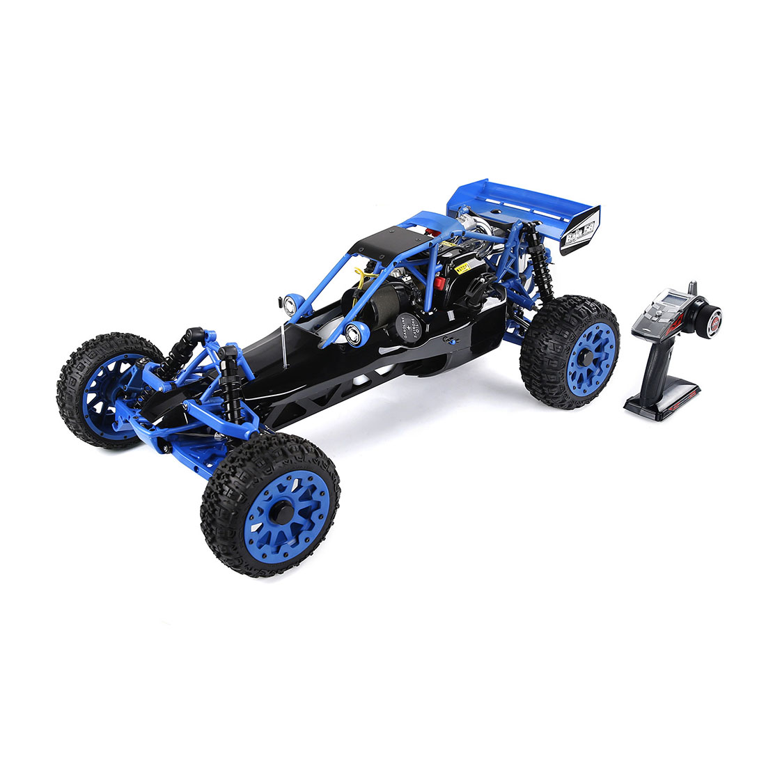 1:5 BAHA320 High Strength Nylon Gasoline Remote Control Car Off-road Vehicle Body 32cc Gasoline Engine 2.4G Remote Control RTR