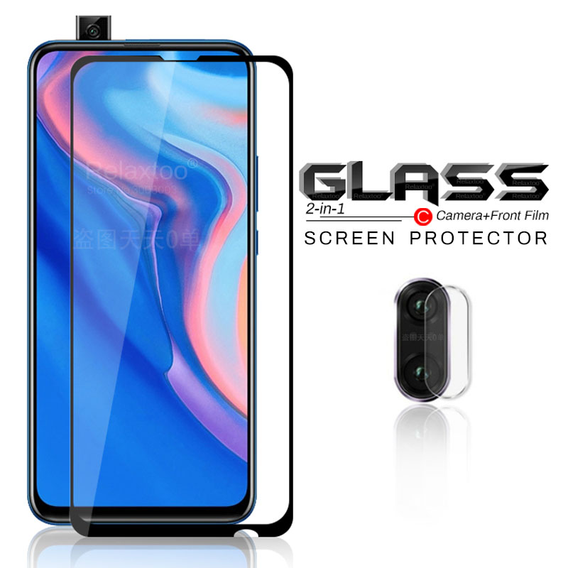 2-in-1 For Huawei Y9 Prime 2019 Camera Protector Glass Y9prime Protective Glass On Hauwei 9y Y 9 Prime 9prime Sheet Armored Film