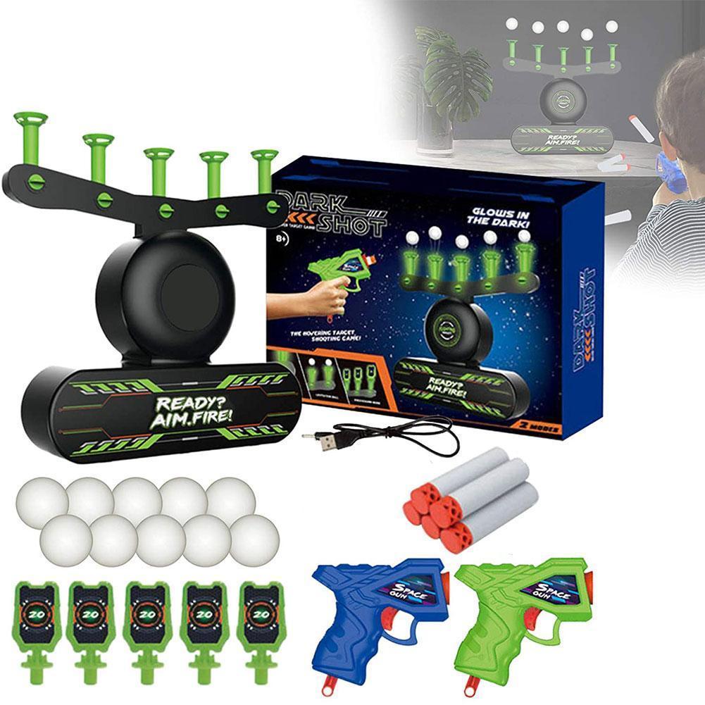 Floating Target Airshot Game Foam Dart Blaster Shooting Kids Dart Ball suspended Xmas Target Ball Gift Toy Children Toy T8P7