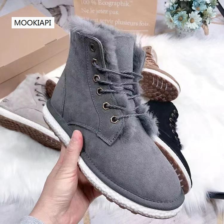 The latest high quality women's shoes of Australian brand in 2020, real sheepskin, 100% natural wool, women's snow boots