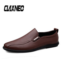 CLAXNEO Man Loafers Spring Summer Male Casual Shoes Genuine Leather Mens Moccasins clax Boat Shoe Breathable
