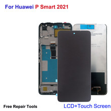 Original For Huawei P Smart 2021 LCD Display Touch Screen Honor X10 Lite Y7A Digitizer Assembly Repair Parts Replacement