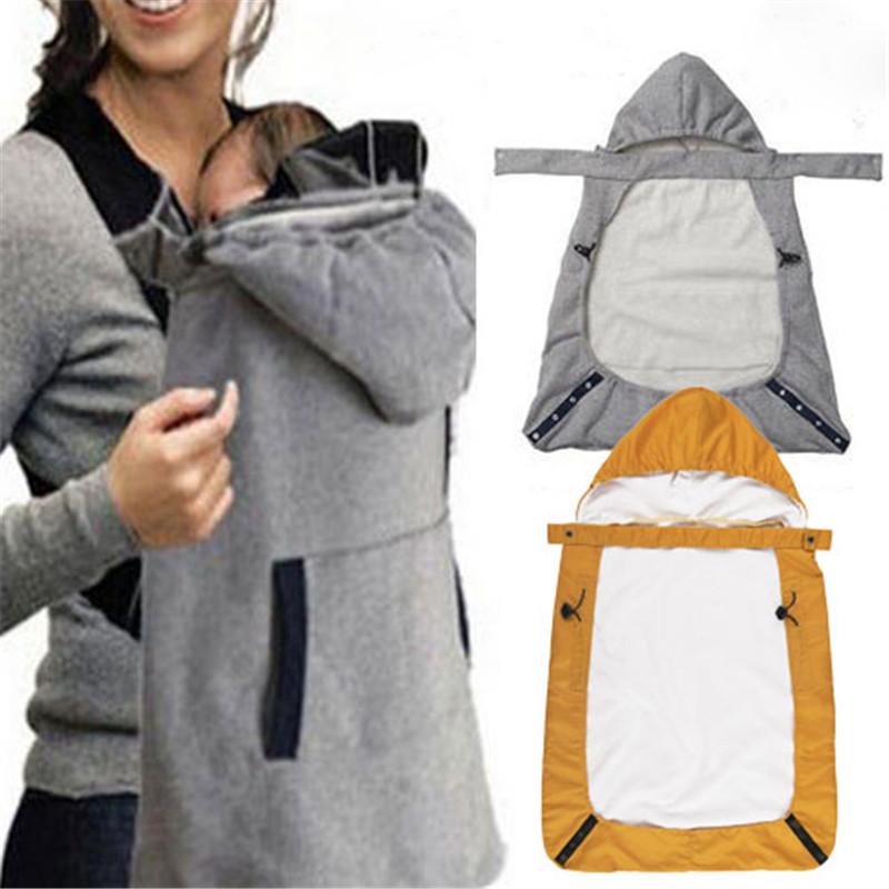 Baby Backpacks Carriers Warm Wrap Sling Baby Carrier Windproof Baby Backpack Blanket Carrier Cloak Funtional Winter Cover Hot
