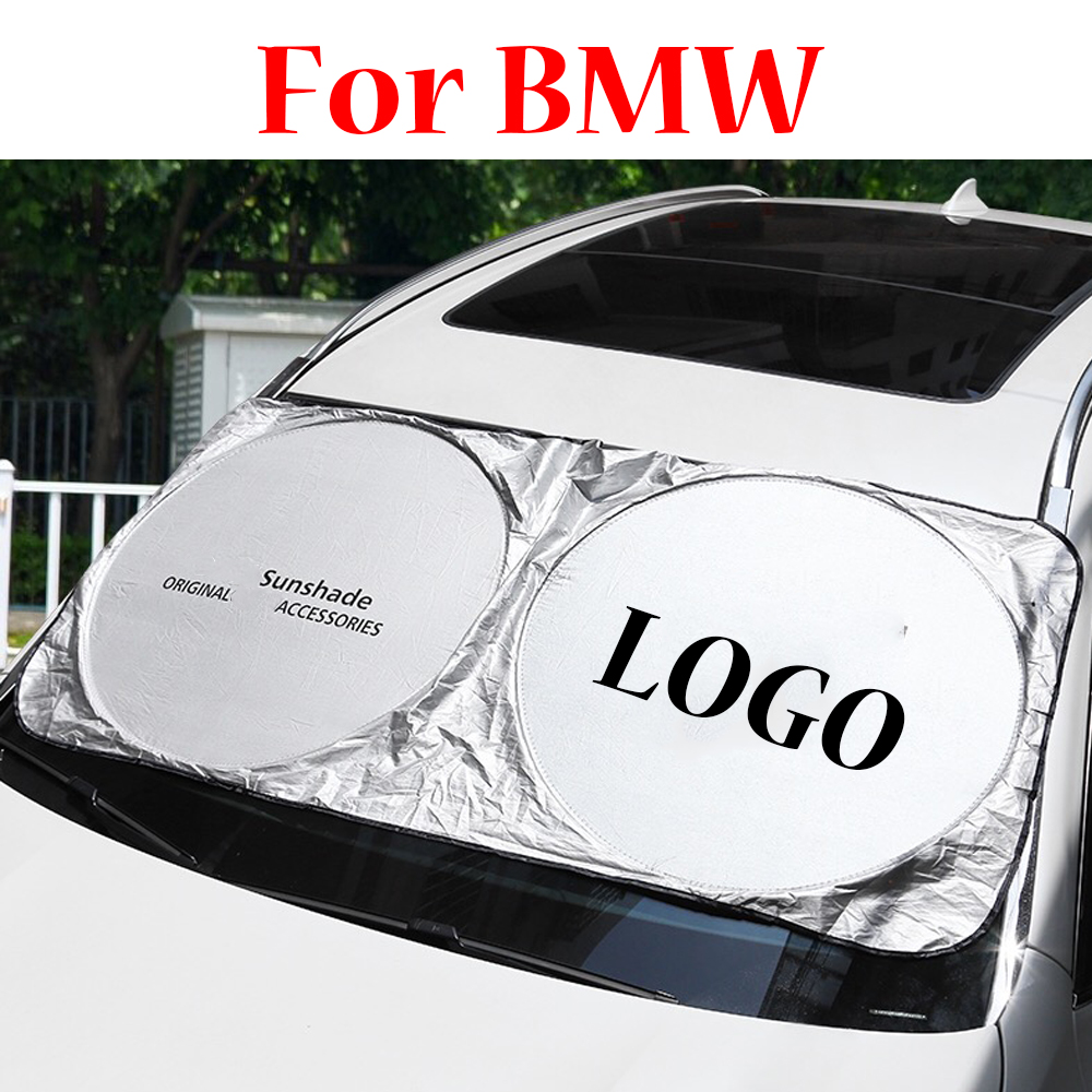 For BMW G01 G20 G30 F30 G32 F12 G32 F20 E46 E90 E87 F21 F34 F22 M Car Windscreen Sunshades Front Window Sun Shade Windshield image
