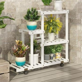 Mueble Para Plantas Etagere planta Para interior estantería Jardin sala de estar...
