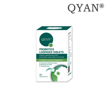 QYAN Probiotics Oral Cavity Tablet Oral Health Supporting The Respiratory System Improve Smoking Throat Discomfort Bad Breath autoimmune diseases effecting face and oral cavity