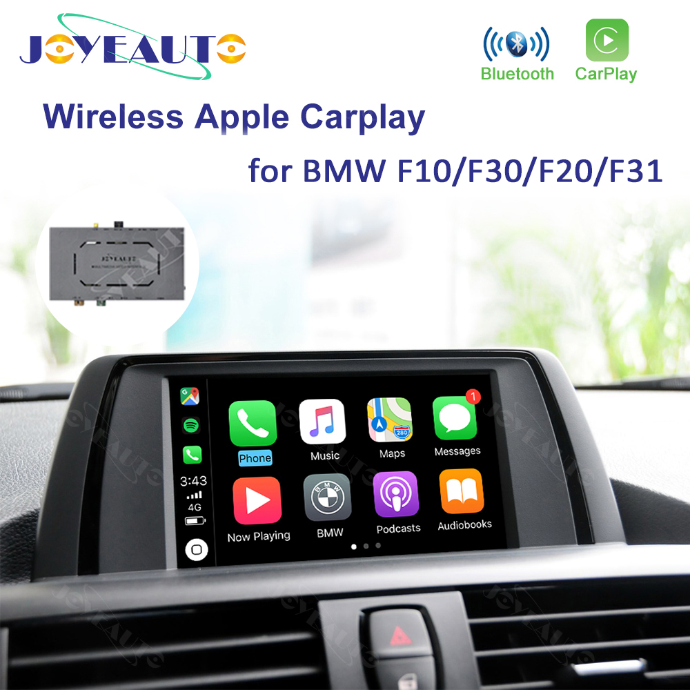 Joyeauto Wireless Apple Carplay For <font><b>BMW</b></font> <font><b>F10</b></font> F30 F20 F31 NBT Car Play Module Adapter <font><b>Android</b></font> Multimedia Aftermarket Accessories image