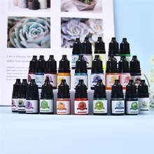 24 Colors 5ml Concentrated Oily Color Pigment Concentrate Epoxy Resin Glue Candle Liquid Pigment Resin Crafts Candle Handicrafts