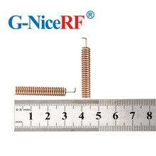30 قطعة/الوحدة عالية الجودة الربيع حلزونية الهوائي 433 ميجا هرتز هوائي ل اسلكية rf حدة الشحن مجانا