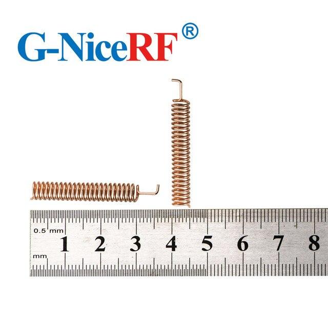 무선 rf 모듈 용 30 개/몫 고품질 스프링 안테나 433 mhz 헬리컬 안테나 무료 배송