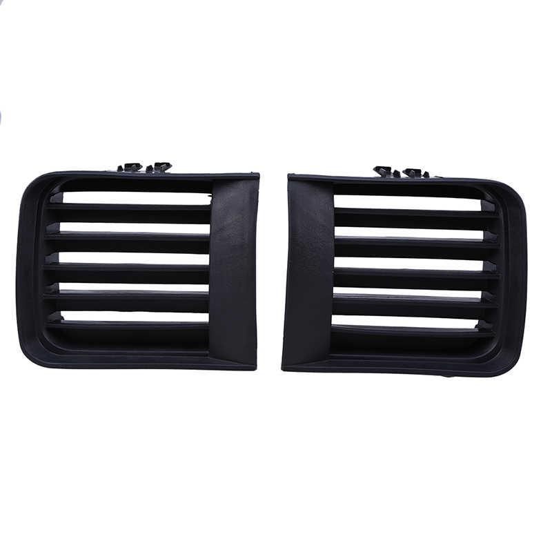 POSSBAY, parrillas de rejilla inferior para parachoques delantero de coche, cubierta para Nissan Pathfinder R50 1999 2000 2001 2002 2003 2004, respiradores laterales de coche