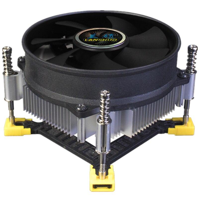 Cooler radiador de led para cpu, com